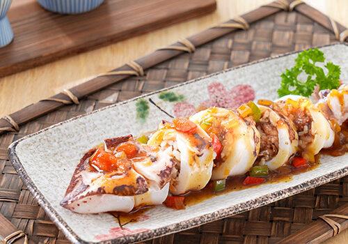 紅燒鰻魚炸飯團