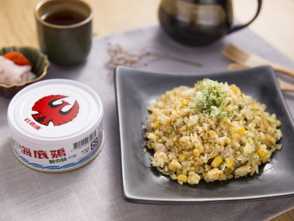 鮪魚玉米炒飯2