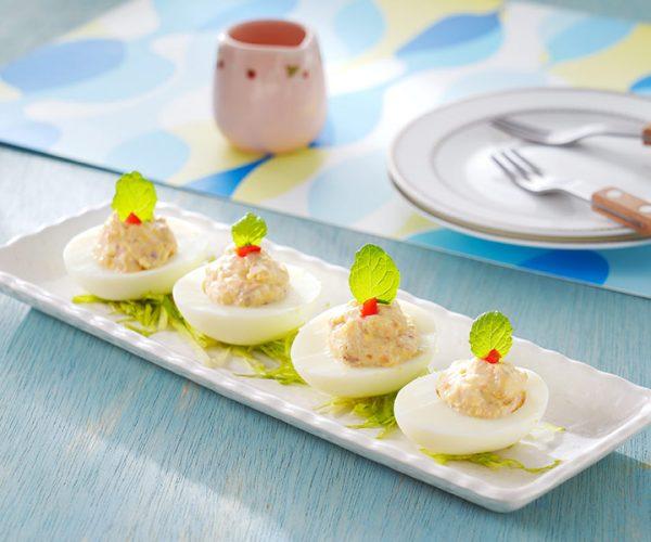 黑胡椒檸檬鮪魚派對蛋