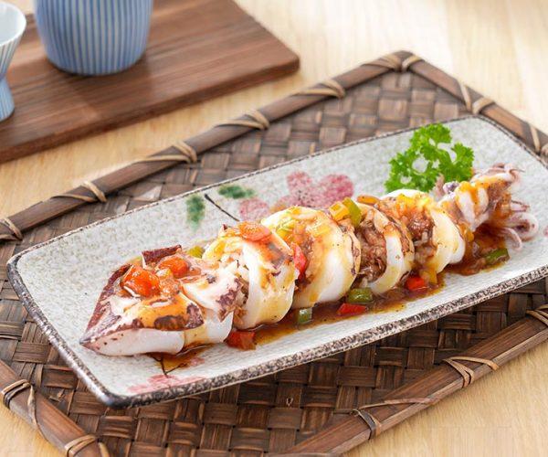 紅燒鰻魚鮮魷釀飯