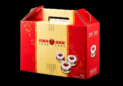 圓型罐裝禮盒12罐
